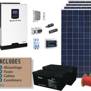 3kw Synapse Solar Conversion Package
