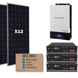 5kw Synapse 10kwh solar kit