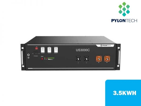PylonTech US3000-C 3.5kWh Lithium-ion Solar Battery
