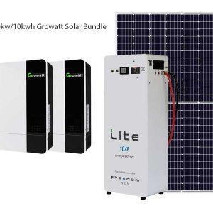 10kw Growatt Solar Bundle