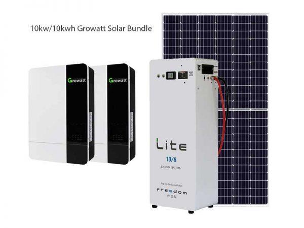 10kw Growatt Solar Bundle Package