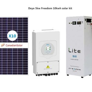Deye 5kw Freedom 10kwh solar kit