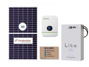 Growatt 5kw 15kwh Solar Package