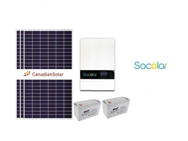 Sunforce 3kw Starter Solar Bundle