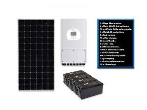 Deye 5kw 4.8kwh Solar Kit