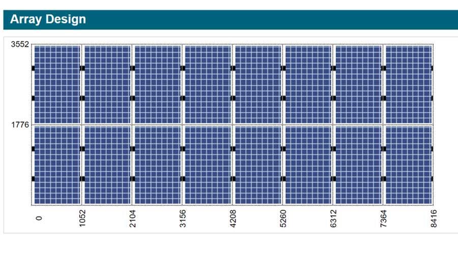 Solar Panel Array Design