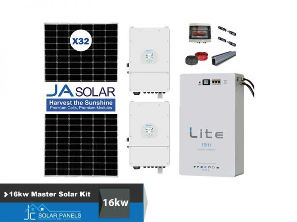 16kw Master Solar Conversion Kit