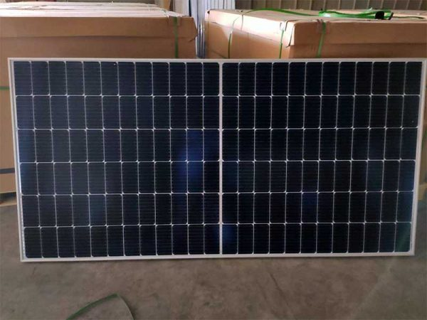540 Watt JA Solar Panel Lying On Side
