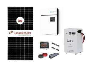 5kw Sunforce 5kwh Freedom solar kit