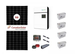 5kw Sunforce Gel Solar Kit