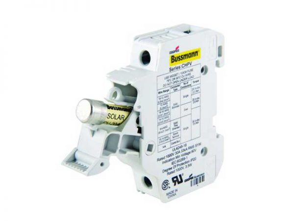 Bussmann Fuse Holder 1P 30A 1kV DC 10x38mm with Indicator