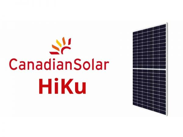 Canadian Solar 450W Super High Power Mono PERC HiKU, EVO2