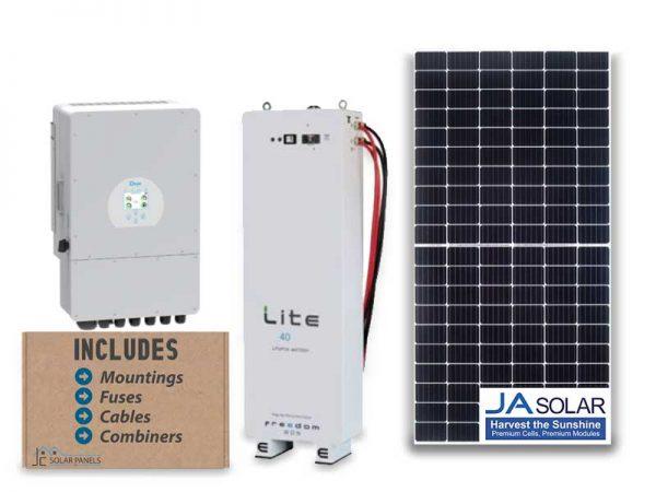 12kw Deye 3-Phase 40kwh Solar Package