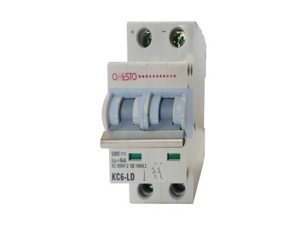 2 Pole 6kA DC Circuit Breaker