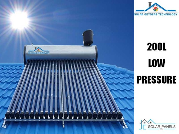 200 Liter Low Pressure Solar Geyser Product