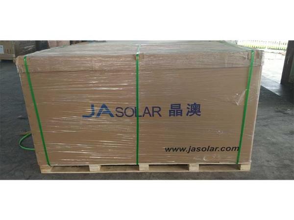 540 Watt JA Solar Panel pallet