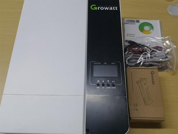 5Kw Growatt SPF 5000 ES Inverter In The Box