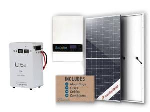 5kw Sunforce 5kwh Freedom solar kit