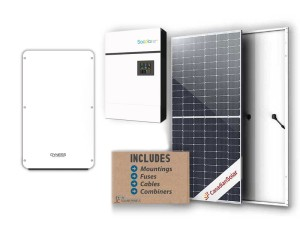 5kw Sunforce Freedom Solar Kit