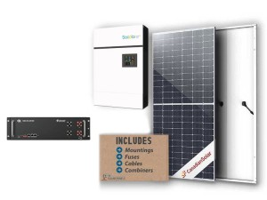 5kw Sunforce Lithium-Ion Solar Package