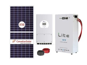 8Kw Deye 15kWh Solar Conversion Package