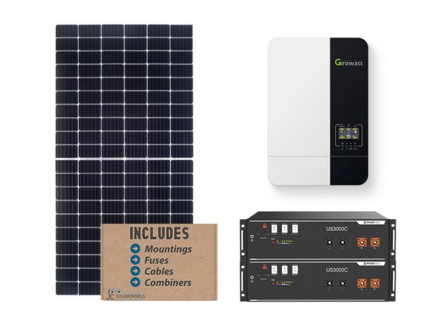 Growatt 5kw Pylontech solar kit