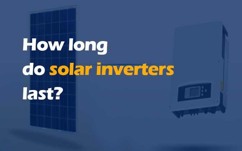 Solar inverter lifespan