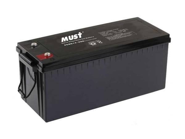 Must 200Ah Gel Battery