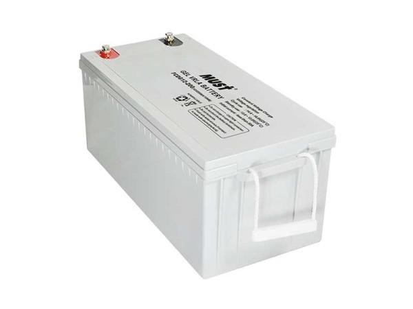 Must 200Ah VRLA Solar Gel Battery