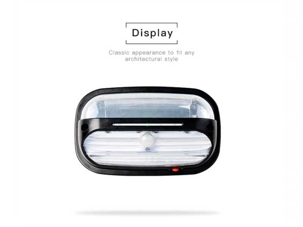 Solar Motion Wall Light Display