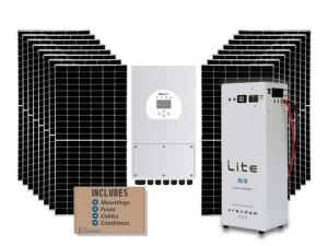 SunSynk 8kw Hybrid Solar Kit