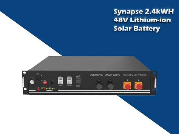Synapse 2.4kWH 48V Lithium-ion Solar Battery