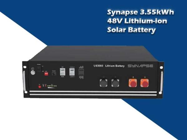 Synapse 3.55kWH 48V Li-ion Battery