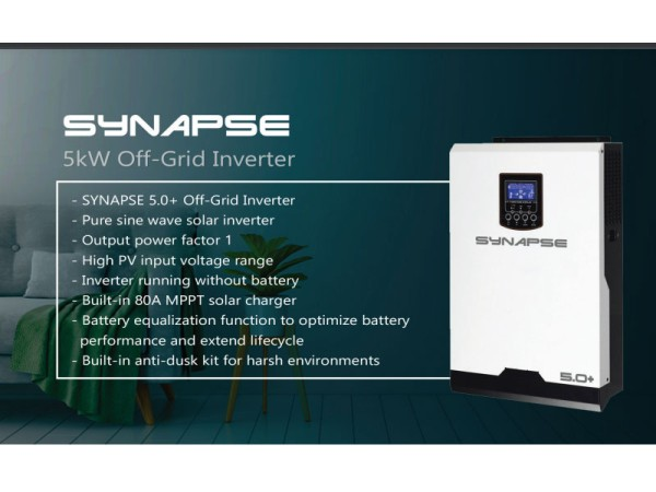 Synapse 5kw 48V MKSII solar inverter