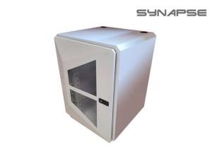 Synapse Rack 12U White Battery Box