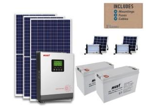 3kw MUST solar bundle