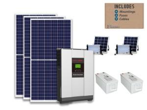 3kw MUST standard solar bundle