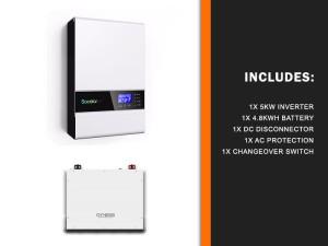 5kw Sunforce 4.8kwh Backup kit