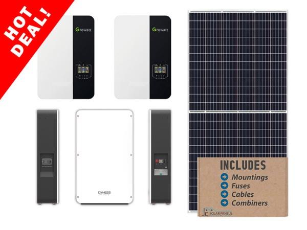 Growatt 10kw Dyness 9.6kwh Solar Kit