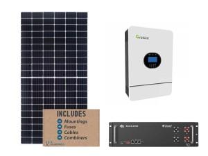 Growatt 5kw 5.12kwh Solar Bundle Package