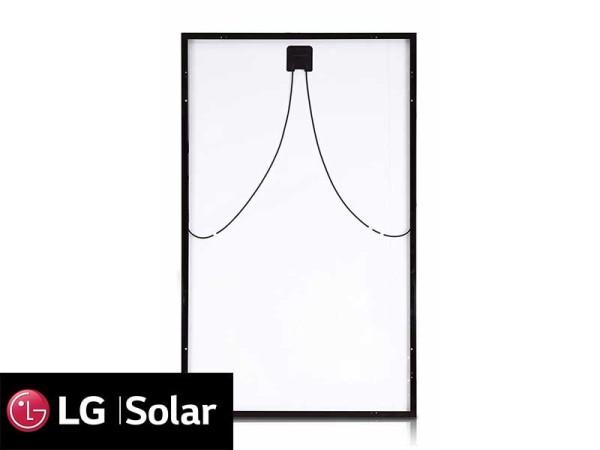 LG 350 Watt NeON 2 Solar Panel Back Panel