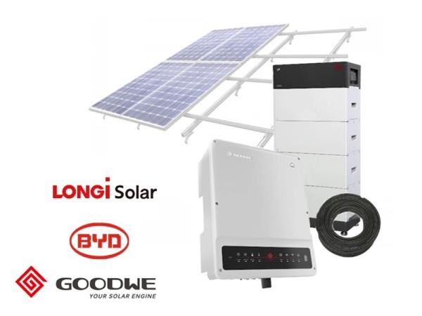 10kW GoodWe Hybrid BYD-HV 3-Phase kit