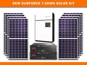 5kw Sunforce 7.2kwh Solar Kit