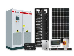 ATESS 30kw HV 38.5kwh 3-phase solar kit