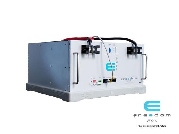 Freedom Won E-Tower LiFePO4 Battery 5kW 48V