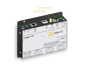 Solar MD smart logger incl. CAN Ethernet Wifi